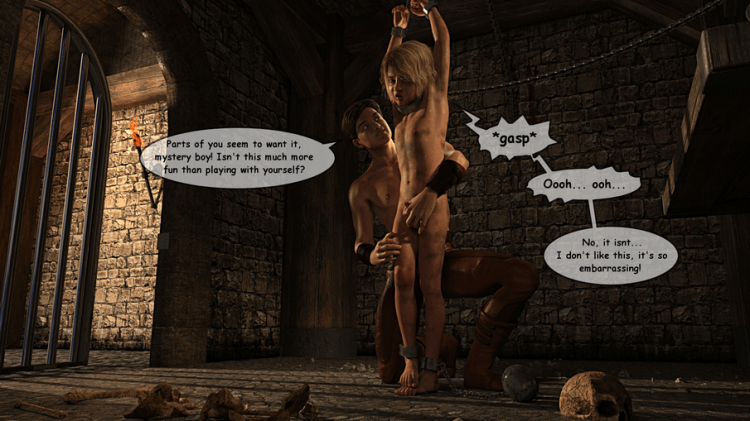 Dungeon Solitude comix Part 2 by Anonymous [Premium Hentai]