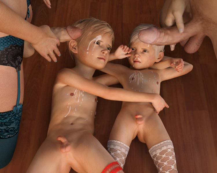 3D art Yaoi loli boys pictures by Anonymous [Premium Hentai]