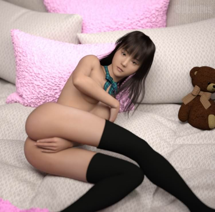 Hot Asian Girls in 3D by 3DCuties [PureLoli Archive]