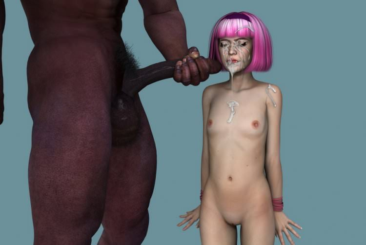 3D loli and black man pictures big gallery by Wayfarer [PureLoli Archive]